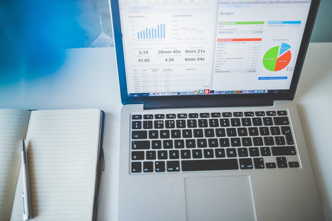 laptop, notebook, business